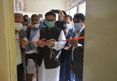 محکمہ لائیوسٹاک کے ویٹرنری ہسپتال کو پیٹس کلینک میں اپ گریڈ کرنے کی تقریب کا انعقاد