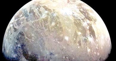 مشتری کے چاند جینی میڈ پر آبی بخارات دریافت